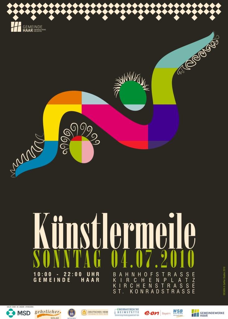 Kuenstlermeile_Plakat_2010