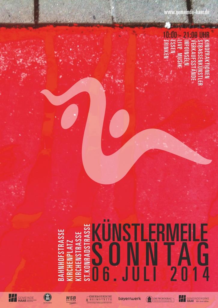 Kuenstlermeile_Plakat_2014
